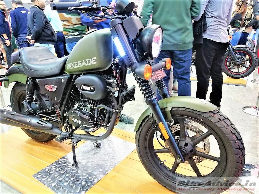 UM Motorcycles relaunch