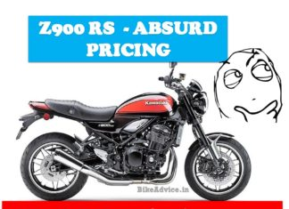 Z900RS high Price Reason