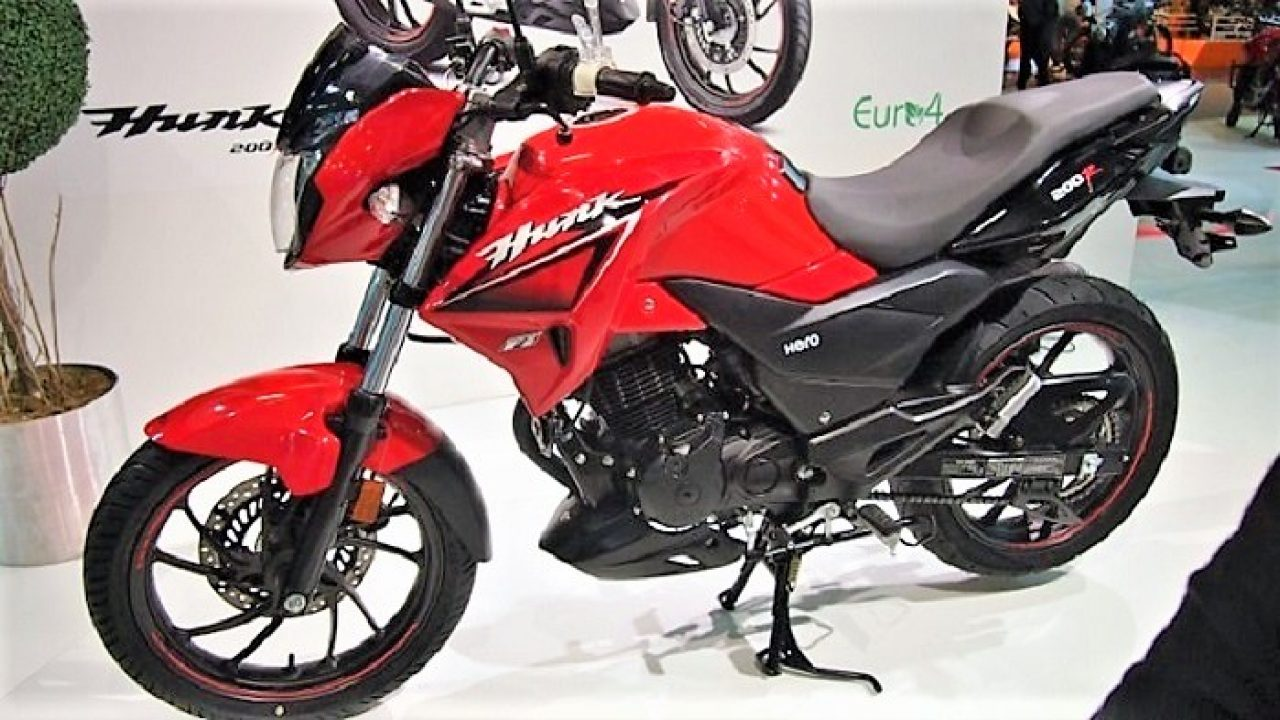 Rebadged Xtreme 200r Fuel Injected Hero Hunk 200r Launched In Turkey