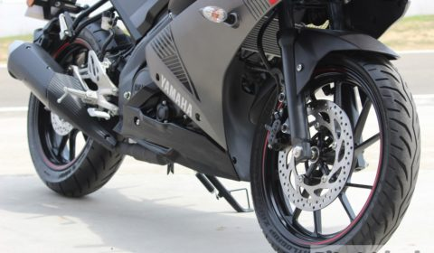 R15 V3 ground clearance