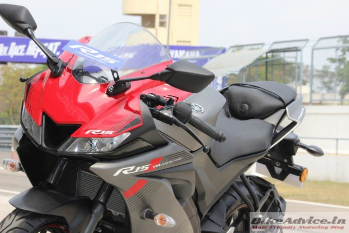 Yamaha R15 V3 LED headlamps