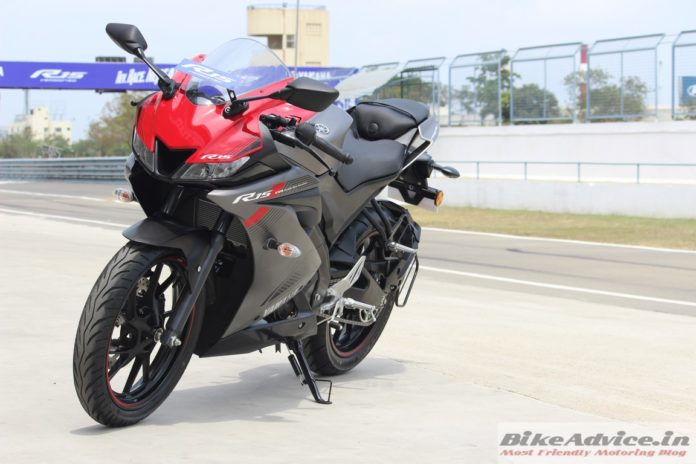 R15 V3 ABS launch