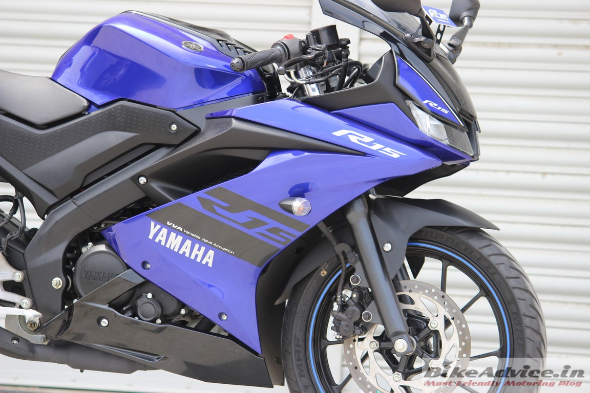 2018 yamaha yzf r15 v3 review first ride bikeadvice in