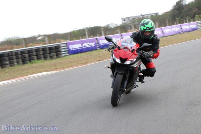 Yamaha YZF-R15 V3 performance