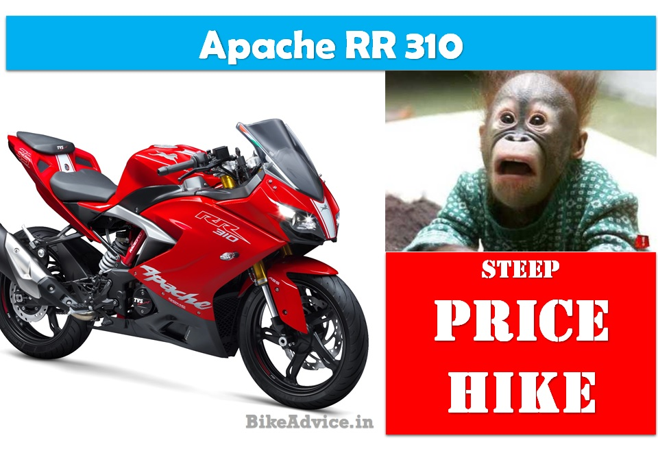 Apache 310 Price Hike – Old vs New Prices in All States of India