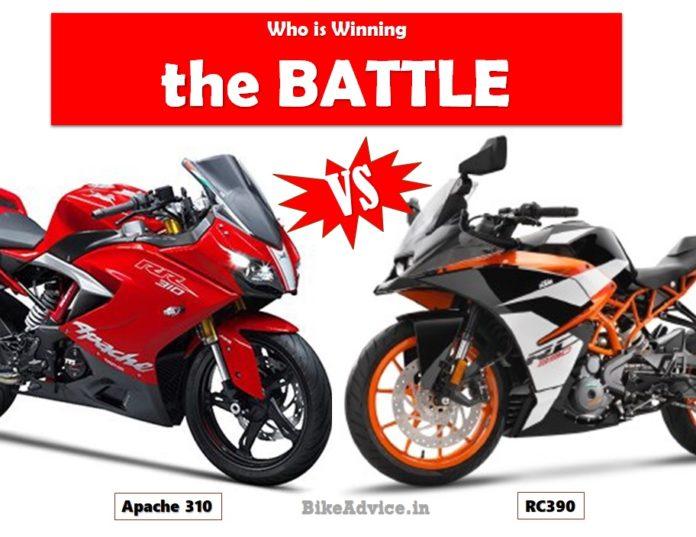 Apache 310 vs RC390