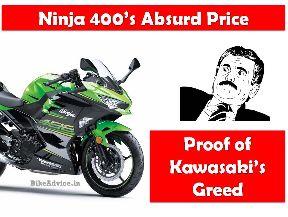 Ninja 400 Vs Ninja 300 Price Difference Is Kawasaki Too Greedy