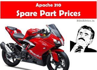 Apache 310 Spare Part Prices