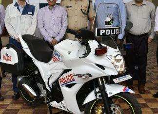 Gixxer Police Version