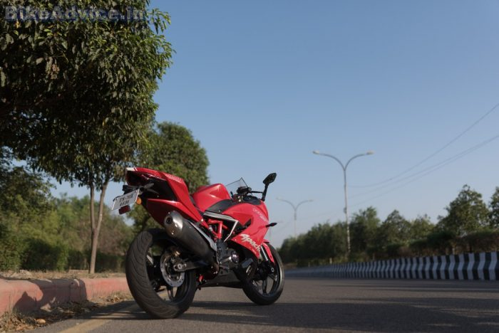 TVS Apache RR 310 review Shiraz