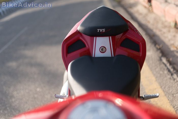 TVS Apache RR 310 review best seats
