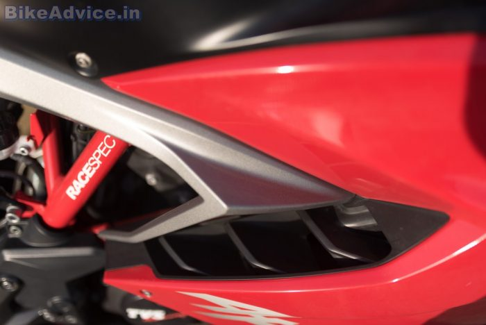TVS Apache RR 310 review heat management