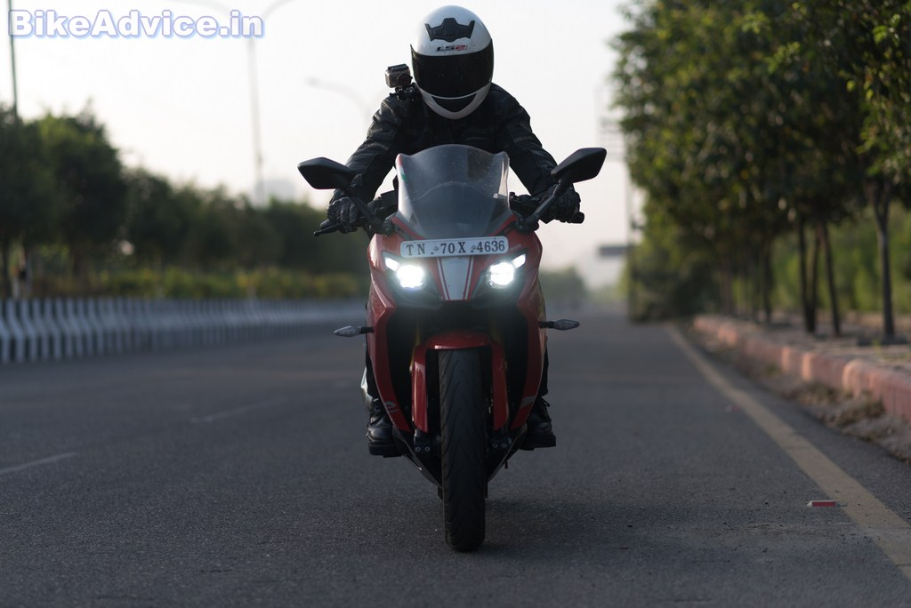 TVS Apache RR 310 Review: ROAD TEST   BikeAdvice in