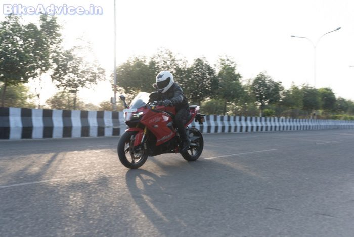 TVS Apache RR 310 review tech specs