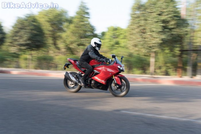 TVS Apache RR 310 review top speed