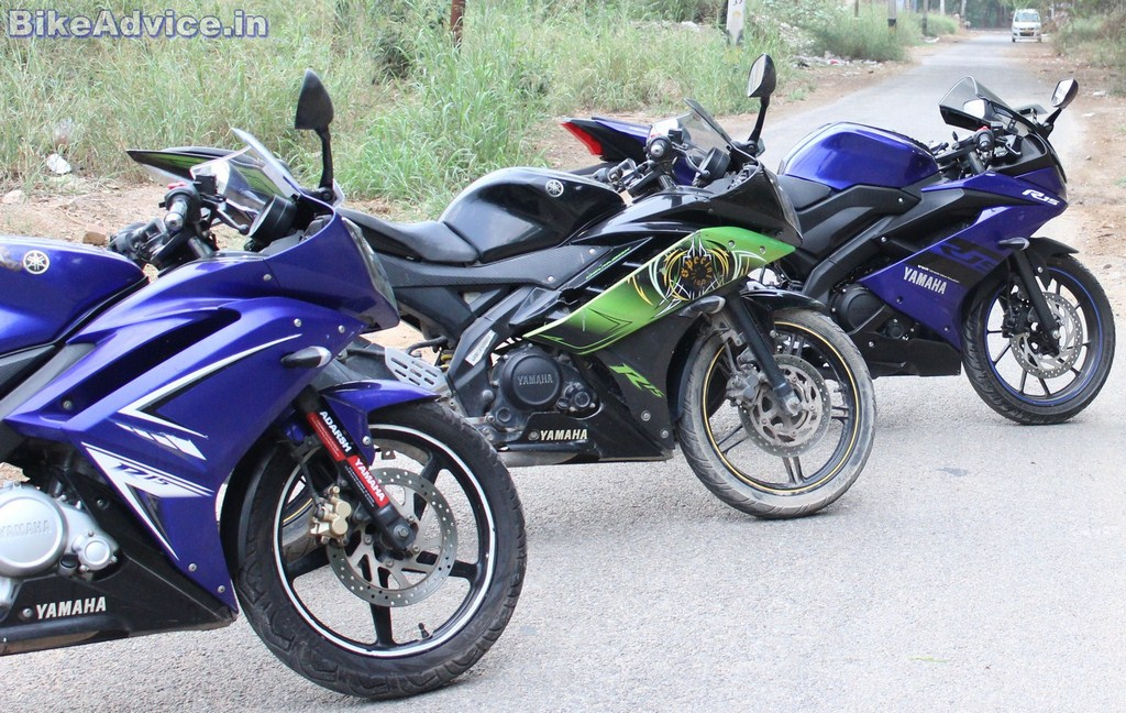 Yamaha R15 v3 vs v2 vs v1 - Acceleration Numbers - Which ...