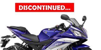 Yamaha R15 v2 discontinued