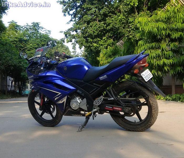 Yamaha YZF R15 V1 fuel tank capacity