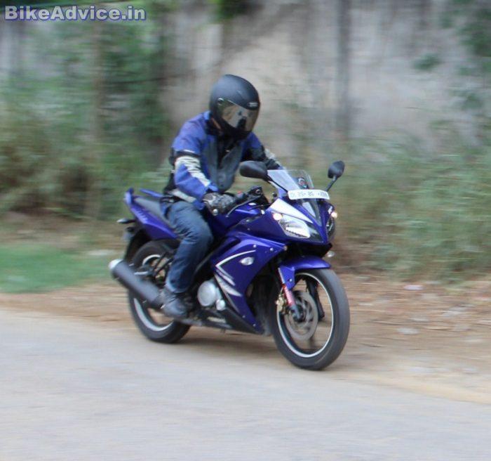 Yamaha YZF R15 V1 top speed