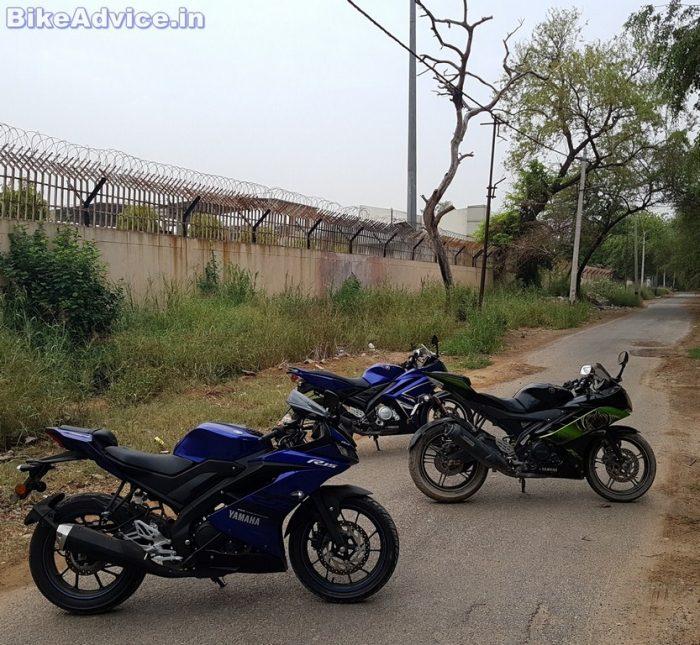 Yamaha YZF R15 V3 vs V2 vs V1 review
