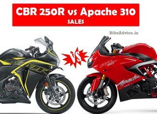CBR250R vs Apache 310