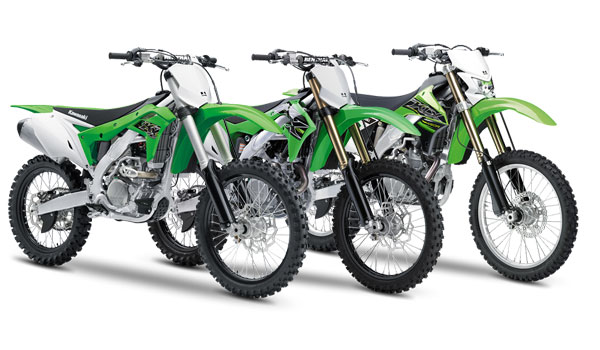 Kawasaki motocross 2019 range India