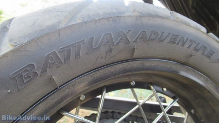 V-Strom review tyres