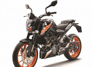 Duke 200 ABS price