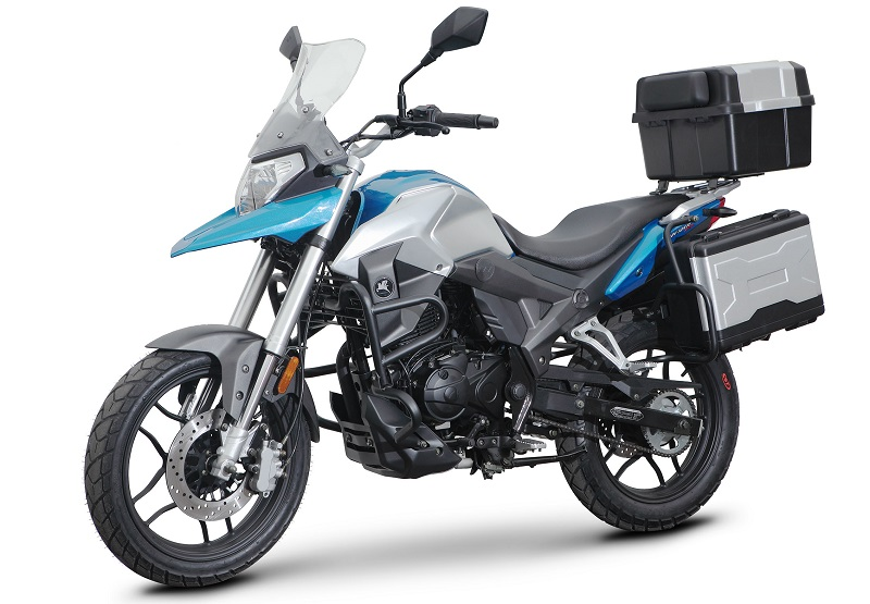 Romet ADV 125 launch