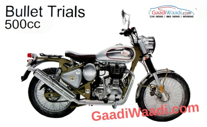 Royal Enfield Trials Launch