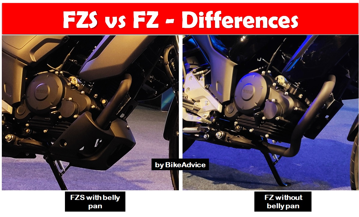FZ vs FZS differences
