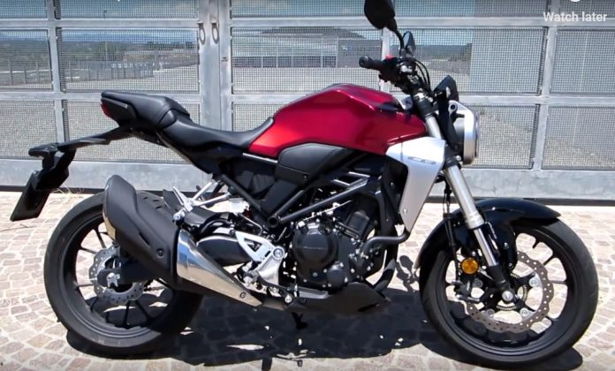 CB300R Exhaust Note
