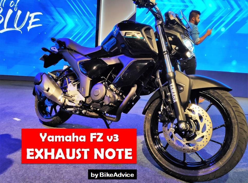 Yamaha FZ v3 Exhaust