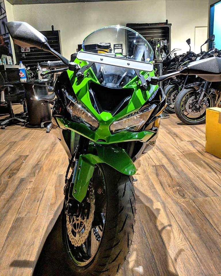 Kawasaki ZX6R Deliveries