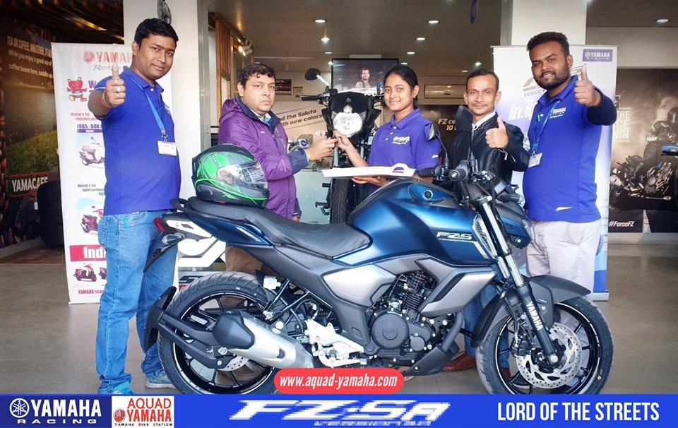 Yamaha FZ v3 Deliveries in Full Swing: Cyan Colour Absent