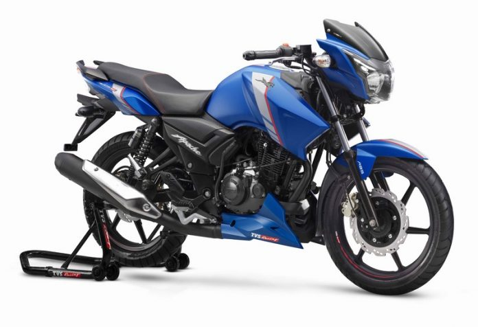 2019 Apache 160 Launched With Abs And 3 Other Changes