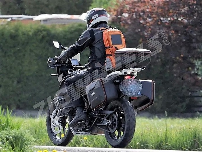 KTM 390 Adventure spy pics