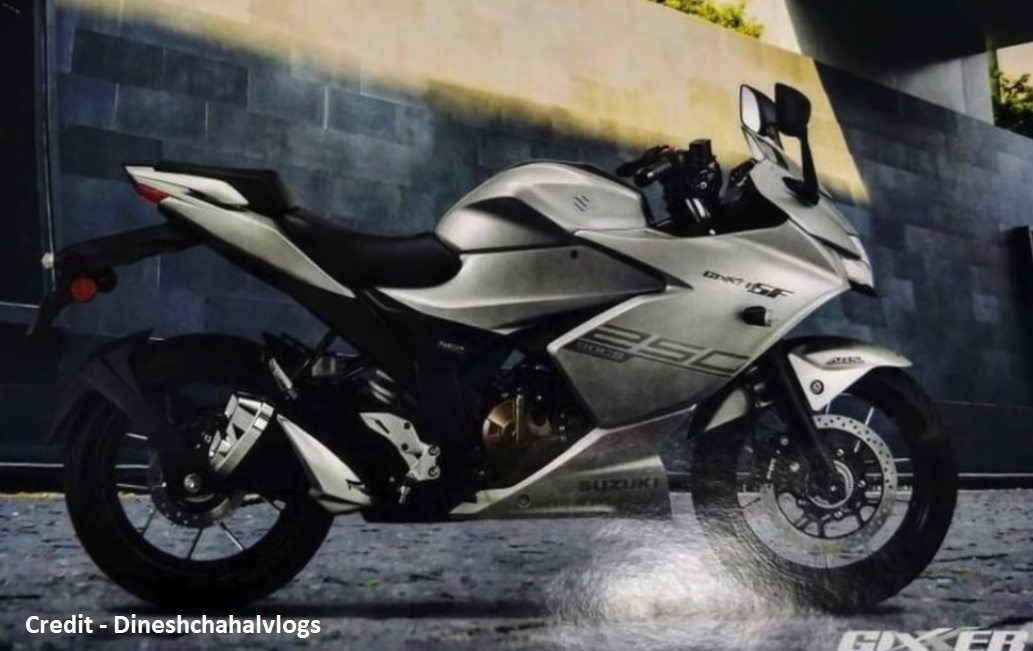 2019 Gixxer SF spy pic