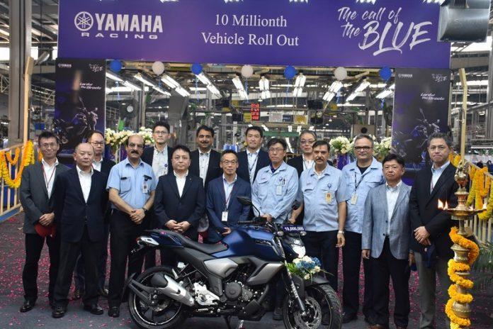 Yamaha 10 Million production