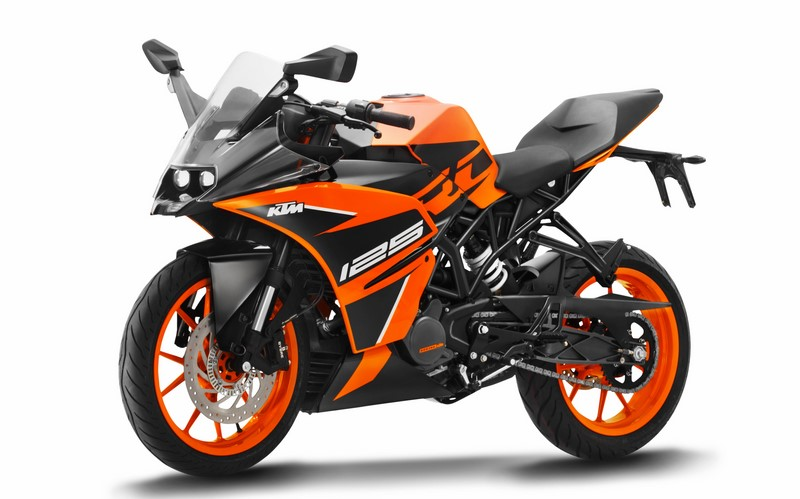 KTM RC 125/200/390: 30 high-resolution photos released