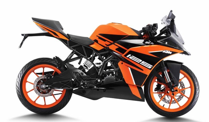 KTM RC125 price