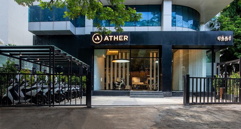 Ather electric motorcycle