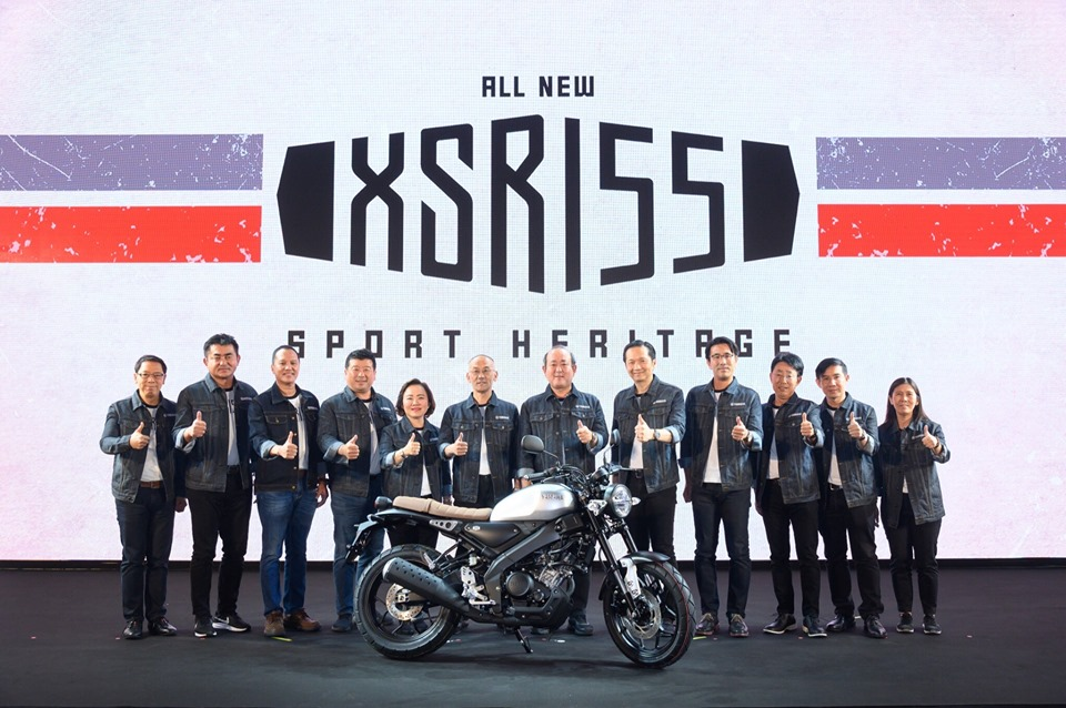 Yamaha XSR155 launch