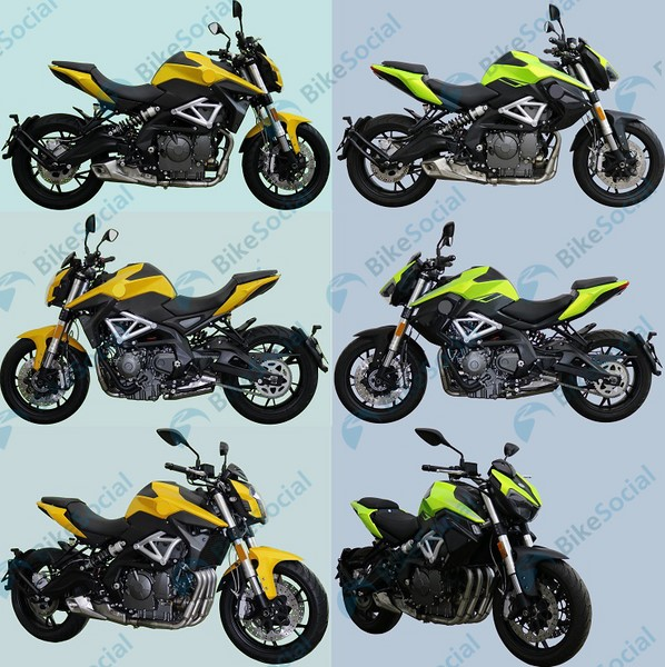 2020 Benelli TNT 600 Pics