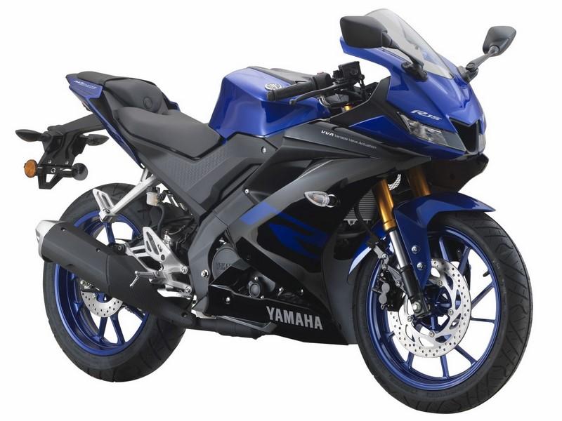 Yamaha R15 colours