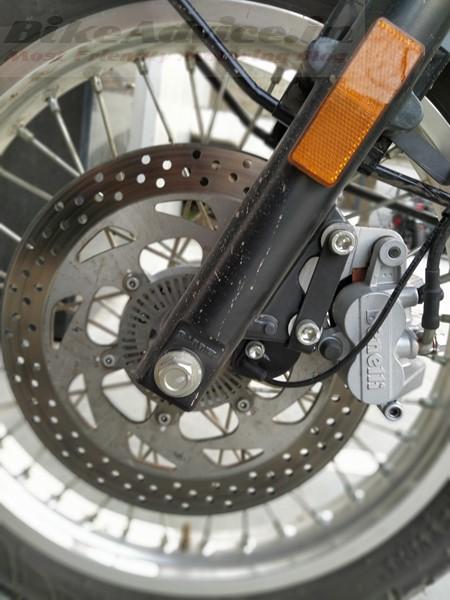 2019 Benelli Imperiale 400 brakes