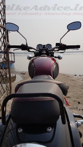 2019 Benelli Imperiale 400 maroon