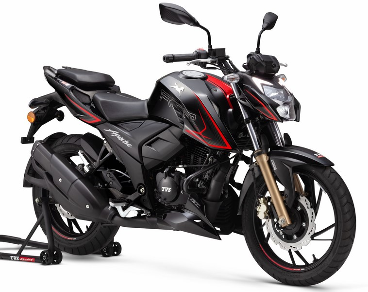 Pulsar RS200 dual-channel ABS