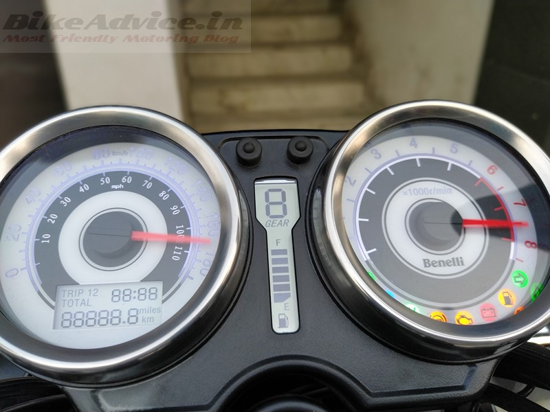 Benelli Imperiale 400 instrument cluster