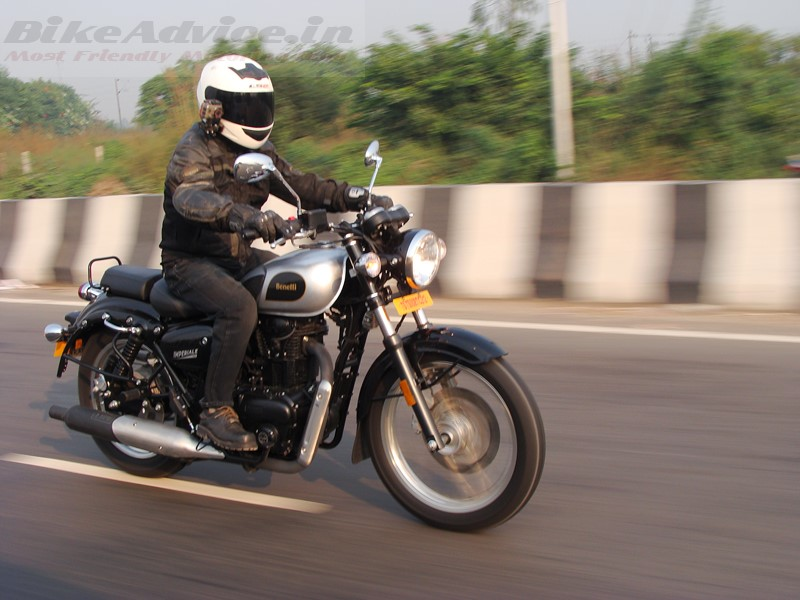 Benelli Imperiale 400 road test review